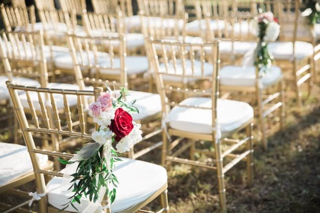 Elegant and Chic Powel Crosley Estate Wedding feature