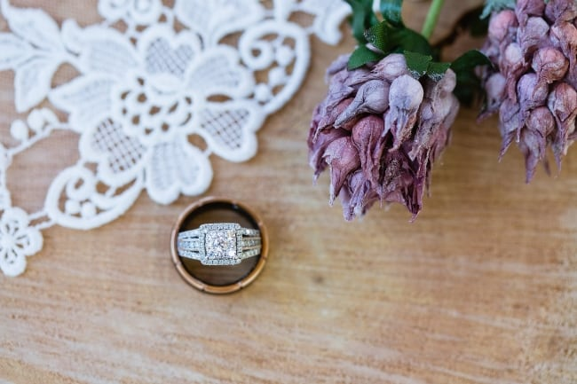 Hues of Purple Rustic Chic Wedding at Schnepf Farms feature