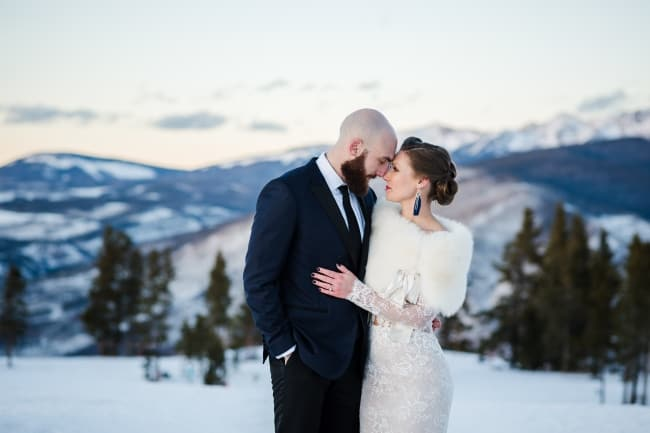 New Year's Eve Wedding in Snowy Vail feature