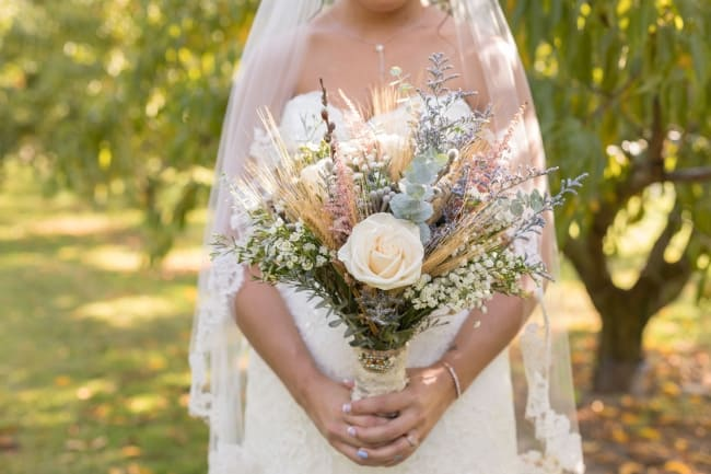Rustic Outdoor Orchard Wedding in Lafayette feature