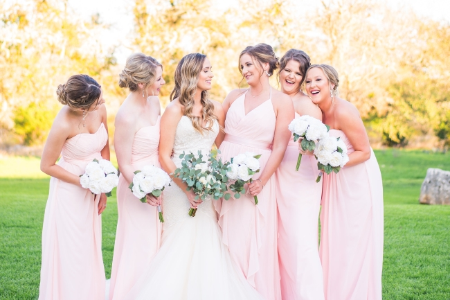 The Perfect Blush Spring Wedding at The Milestone