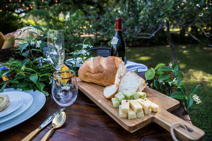 Inspired Styled Wedding French Impressionist Garden Love Lavender