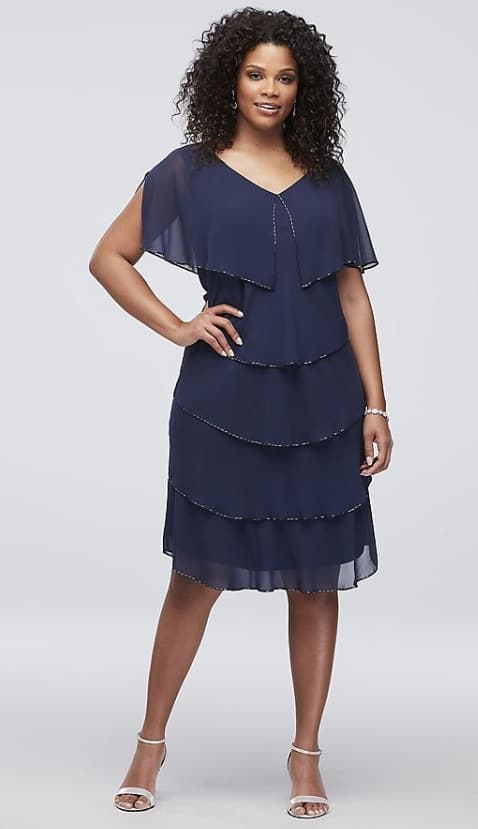 Example of a Cocktail Dress for Mother of the Bride