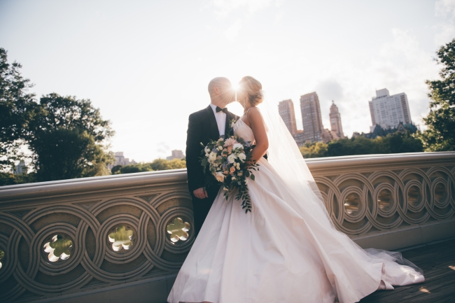 Classic Manhattan Wedding at Boathouse in Central Park feature