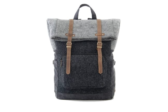 Wool Felt Backpack for 7th anniversary gift for him