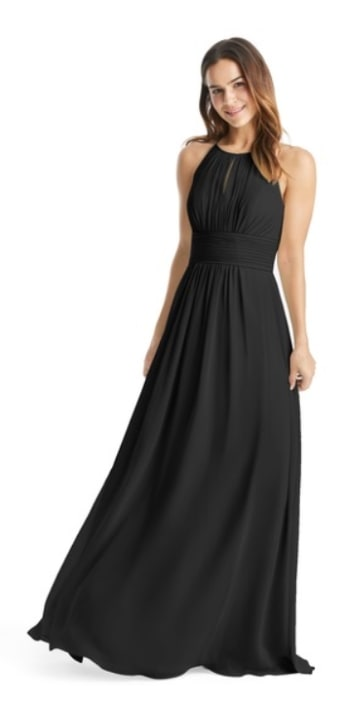 ​AZAZIE BONNIE Floor length Chiffon Bridesmaid Dresses1