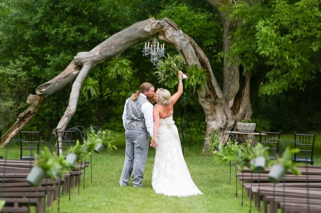 Fern Wedding at Minnesota Farm feature