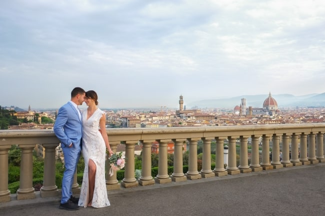 Styled Elopement in Florence, Italy feature