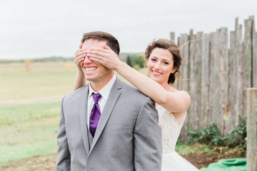 Seeing each other before the wedding superstition