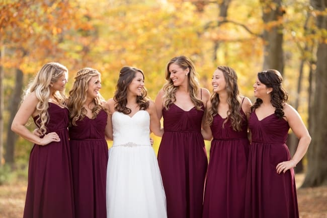 Lakeside Fall Wedding in CT feature