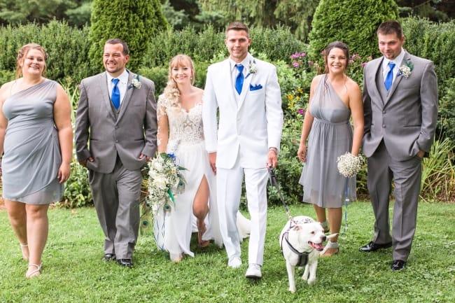 Chatteau Morrisette Winery Wedding in Virginia feature