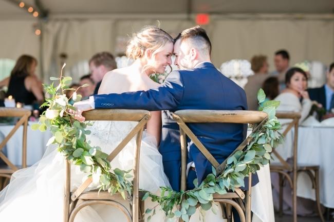 Elegant Blush Spring Wedding feature