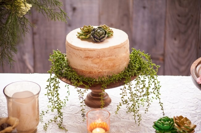 Elegant Wooded Styled Shoot feature