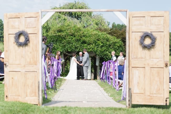 Lovely Lavender Filled Wedding at The Old Mill Farm FEATURE