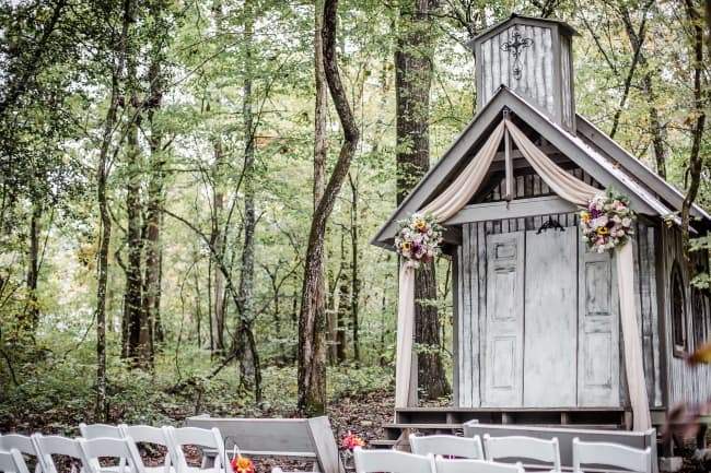 Sunflower Filled Intimate Wedding at Chapel in the Hollow feature