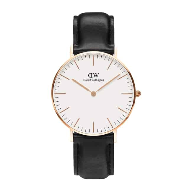 15th Anniversary gifts for her Wrist watch by Daniel Wellington