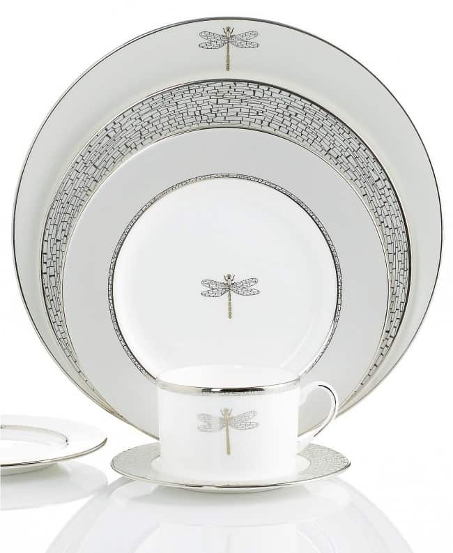 20th anniversary gift idea Kate Spade Bone China Set