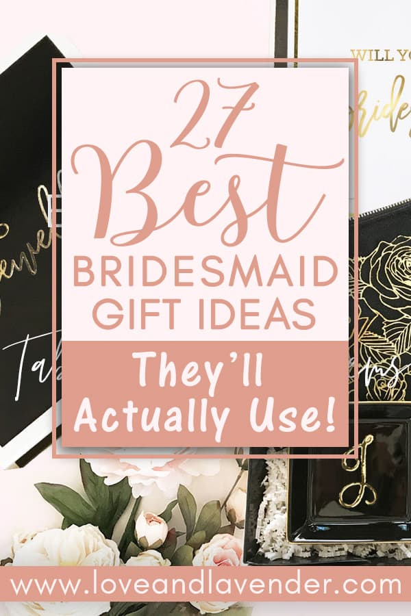 29 Best Bridesmaid Gift Ideas For 2019 Under 65
