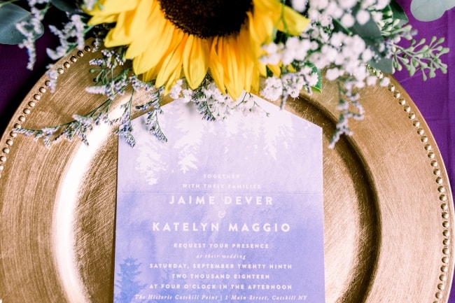 A Cozy Fall Wedding with Sunflowers feature
