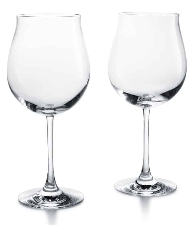 Crystal Wine Glasses for 15th anniversary gift
