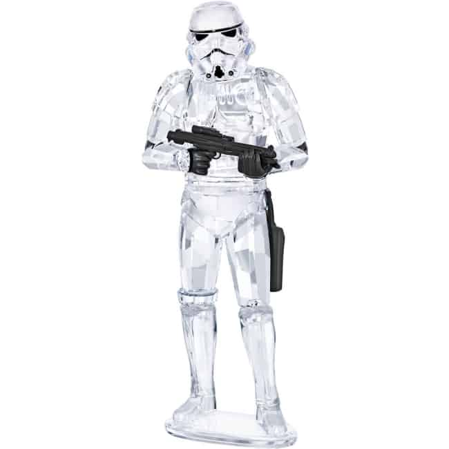 Swarovski crystal Star Wars Stormtrooper for 15th anniversary gift
