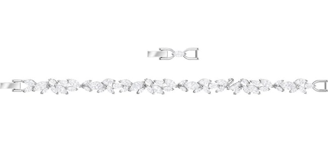 Swarovski crystal bracelet for 15th anniversary gift