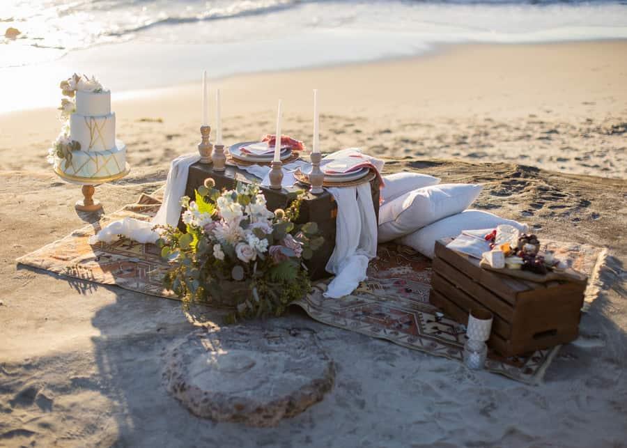 Bohemian Wedding At Windansea Beach Love Lavender