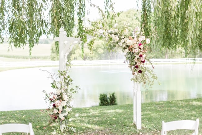 Boho Chic Pond View Farm Wedding feature