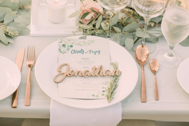 California Coast DIY Wedding with Vintage Details feature