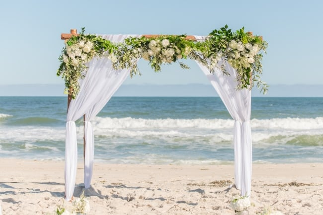 Long Beach Island Ocean Front Wedding feature