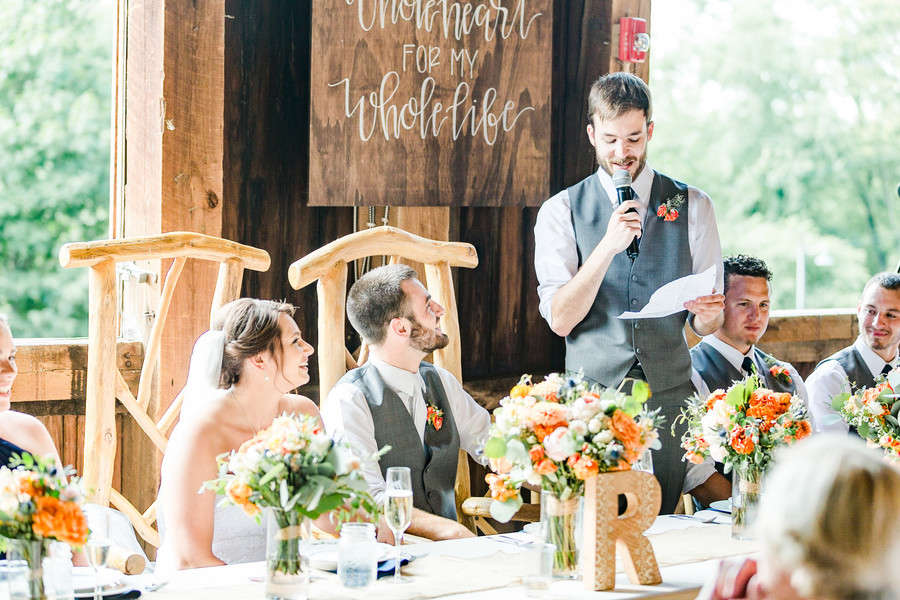 Classic Rustic Wedding In Hills Of Ohio Love Lavender