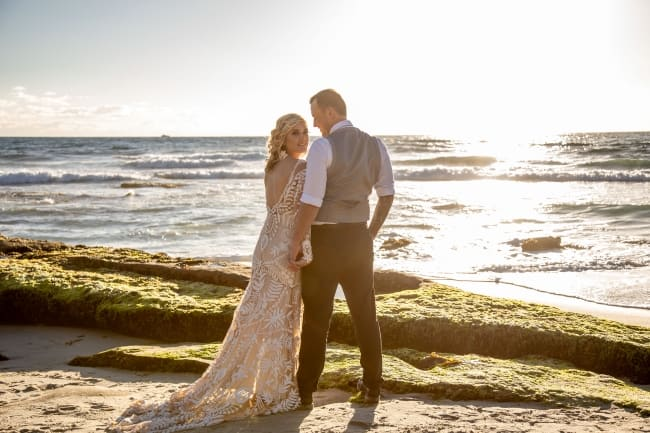 Bohemian Wedding at Windansea Beach feature