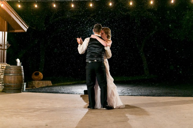 Rustic Ranch Wedding with Movie-Worthy Dancing in Rain feature