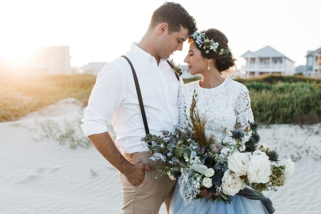 Salty Air Styled Wedding in Texas feature