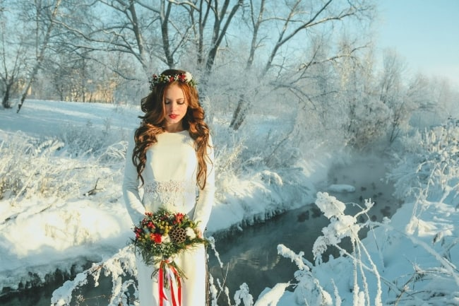 The Most Perfect Winter Worthy Wedding Dresses