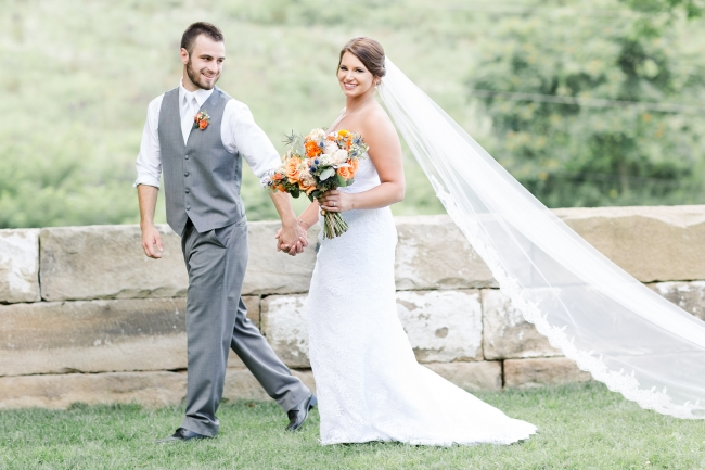 Classic Rustic Wedding in Hills of Ohio