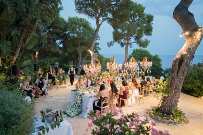 Elegant Seaview Wedding in Nice, France feature