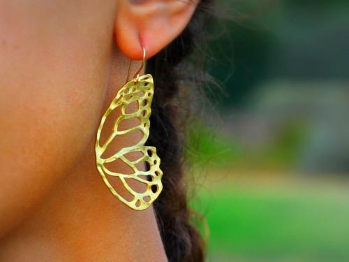 Butterfly Wing Earring