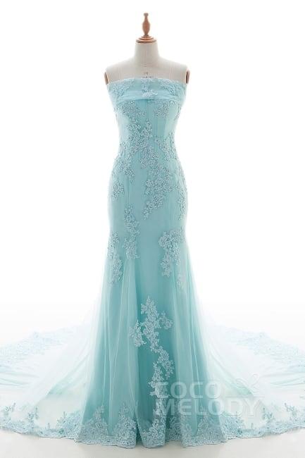5 Breathtaking Blue Wedding Dress Picks For An Elegant Look