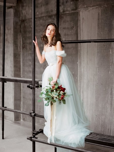 5 Breathtaking Blue Wedding Dress Picks For An Elegant Look