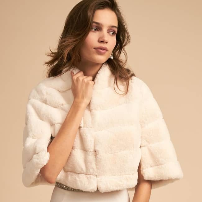 11 Bridal Jackets Wraps To Match A Fall Wedding Gown 2020