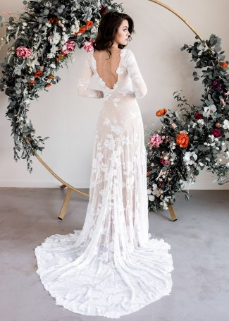 5 Dreamy Boho Dress Ideas For Your Wedding,Plus Size Wedding Dresses Cheap With Sleeves