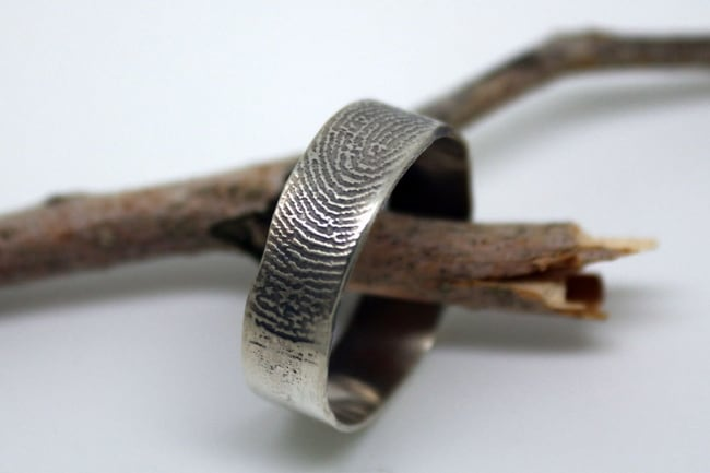 Custom Fingerprint Ring