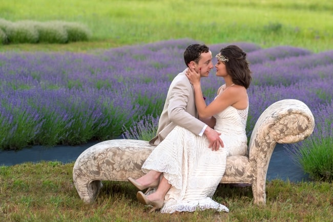 Lavender Field Styled Wedding in Eastern Washington feature