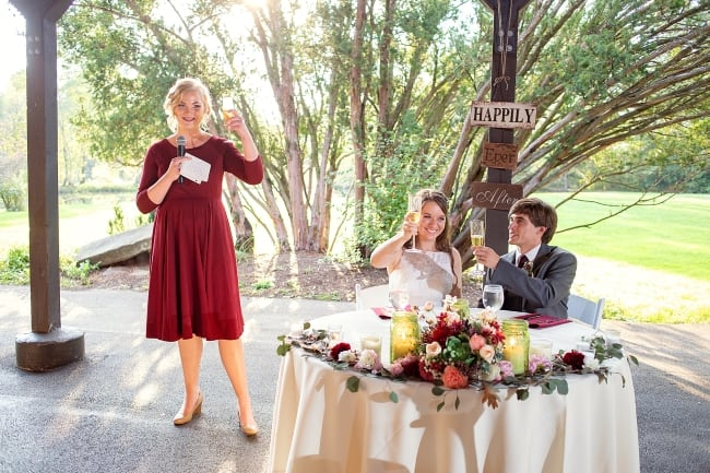 Outdoor Fall Wedding at Succop Nature Park feature