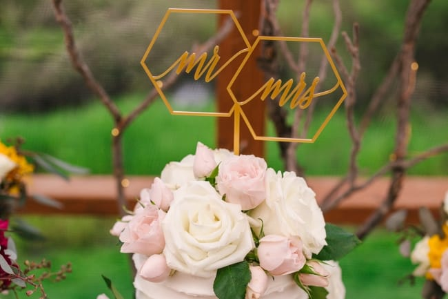 Spring Wedding with Simple Rustic Elegance feature