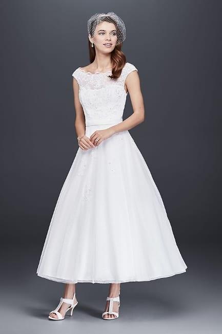5 Tea Length Wedding Dresses Affordable And Stylish