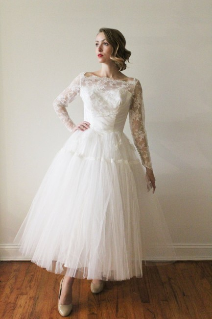 5 Tea Length Wedding Dresses Affordable And Stylish