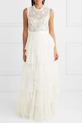 Net-a-porter example online wedding gown
