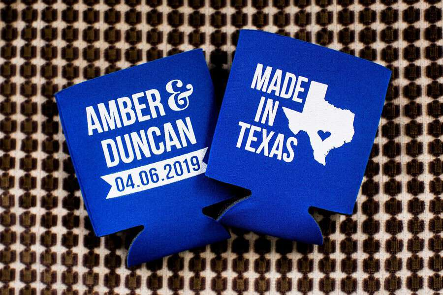 personalized wedding favor example